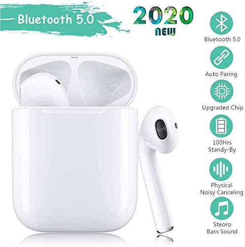 Auricolari Senza Fili Bluetooth 5.0 Soak,IPX8 Impermeabile,Accoppiamento automatico Vero Wireless Cuffie Sport,riduzione del rumore stereo 3D HD,per cuffie Apple Airpods Pro/iPhone/Samsung/Huawei