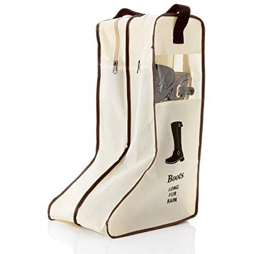 Tragbare Reitstiefeltasche, Anti-Staub, für Reisen, lange Stiefel, Stiefel, Schuhe, Organizer, Aufbewahrungstasche (für lange Stiefel)