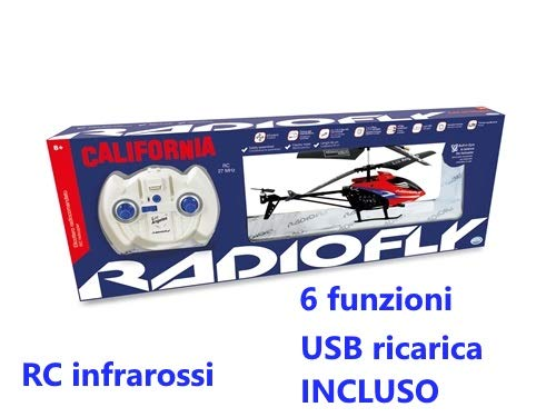 ODS RADIOFLY CALIFORNIA ELIC. R/C 40301