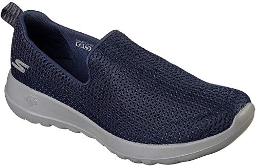 Skechers Performance Women's Go Walk Joy Walking Shoe, Navy/Grey, 9 W US