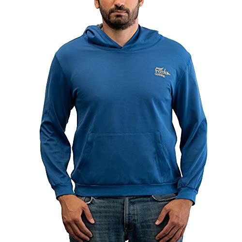 Blocwave Sudadera con capucha unisex con protección EMF – Ropa de protección escudo EMF, azul real, S