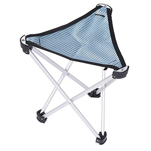Portable Outdoor Folding Camping Chair, Lightweight Heavy Duty Chair for BBQ, Fishing, Travelling, Hiking w/Carry Bag