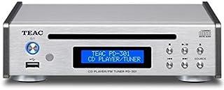 ティアック CDプレーヤー/FMチューナー (シルバー) PD-301-S