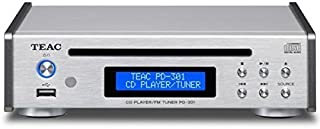 TEAC CD player / FM tuner PD-301-S (Silver)
