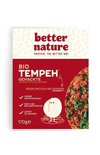 Better Nature - Bio-Tempeh Gehacktes 170g (5er-Pack) Vegane Fleischalternative