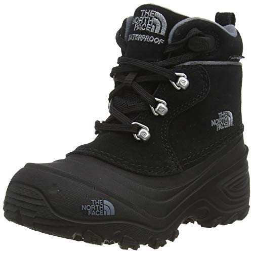 North Face The Girls' Shellista Pull-On II Boots - Black/Blue Iris, 6 Youth