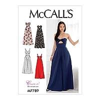 McCall's Patterns M7789 裁縫パターン E5 (14-16-18-20-22) M7789