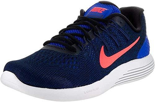 Nike Herren Lunarglide 8 Laufschuhe, Schwarz (Schwarz/Anthrazit/Weiß), 42.5 EU