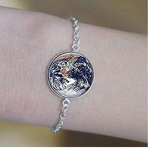 Pulsera de cristal con hemisferio oriental, de la marca Earth Bracelets