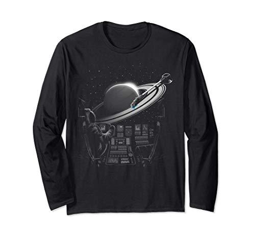 Planetary Plattenspieler Langarmshirt