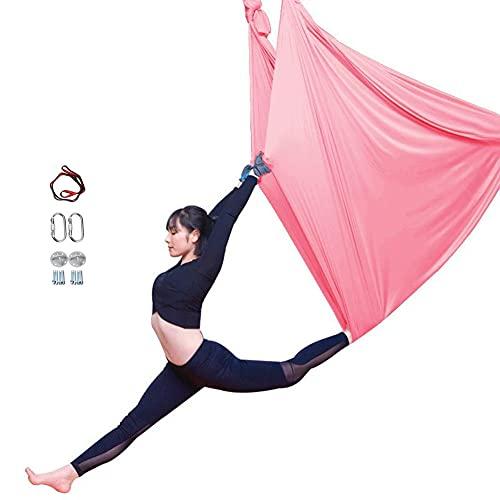 Juego De Columpio De Yoga AéReo - Hamaca De Yoga Antigravedad Ultra Fuerte - Kit De Trapecio AéReo - Eslinga para Ejercicios De InversióN De Yoga Antigravedad