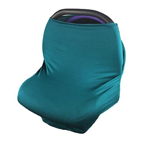 BEARCOLO Dehnbar Auto Sitzbezug Multifunktional Baby Autositz Himmel Atmungsaktiv Verstellbare Sichtschutz Stilltuch