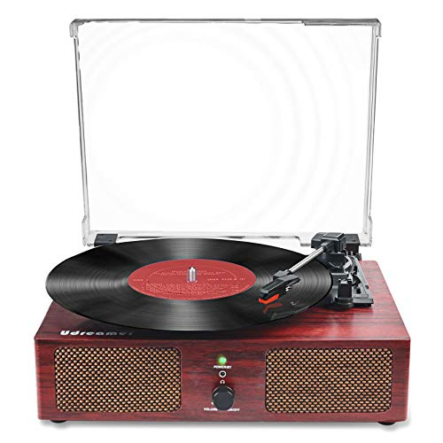 Vinyl Record Player Bluetooth Tu...
