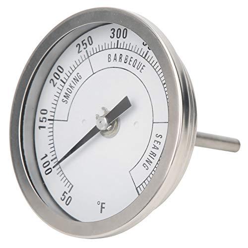 Kuuleyn TX-BX54 Termómetro de Esfera para Horno, termómetro de Parrilla de Cocina NPT Ajustable de 3 Pulgadas, indicador de Temperatura de Alta precisión, Rango de 50-550 -5 Grados