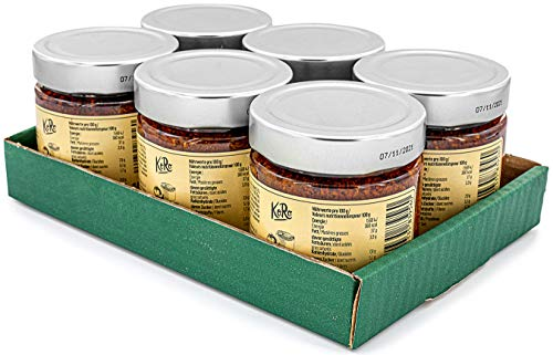 KoRo - Pesto Rosso Vegan 6 x 180g - Leckeres Pesto in Vorteilspackung