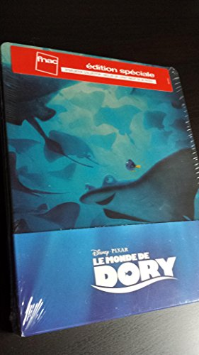 Finding Dory (Findet Dorie) - Exklusiv Limited FNAC Steelbook Edition (with 96 Page Booklet) - Blu-ray