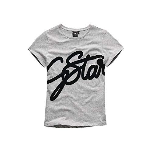 G Star Sq10626tee Shirt Camiseta, Gris (Industrial Grey 20),
