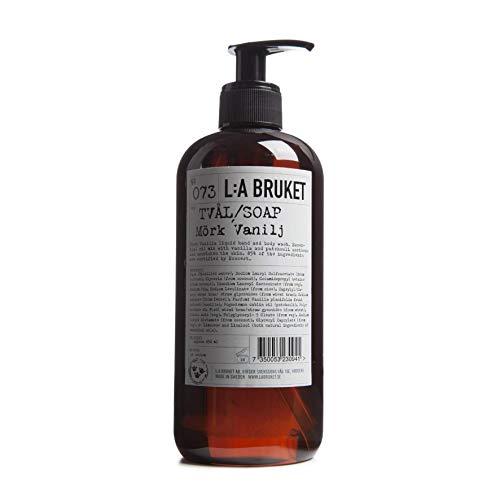 L:a Bruket No.73 Flüssigseife, Dark Vanilla, 1er Pack (1 x 450 ml)