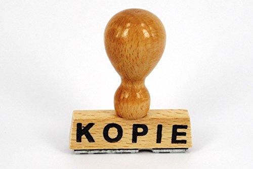 LE-ONs® XXL houtstempel professionele serie L23: K O P I E
