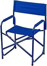 E-Z UP Directors Chair, Standard, Blue