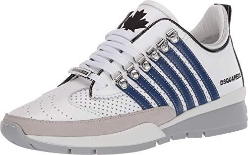 DSQUARED2 251 Sneaker White/Blue 43 (US Men's 10) D (M)