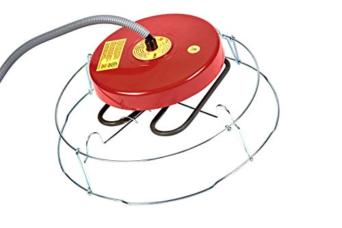API Floating Water Tank Deicer Floating De-Icer with Guard, 1500 Watt (Item No. 521G)