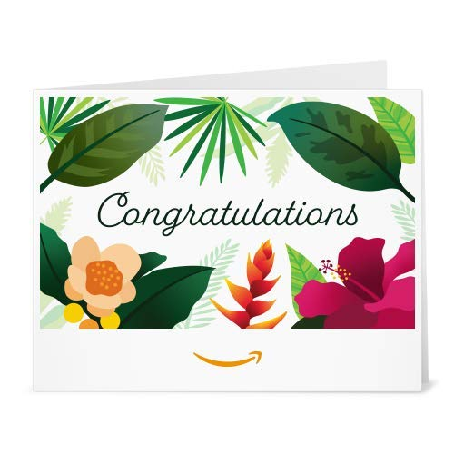 Amazon eGift Card - Print - Congrats Floral