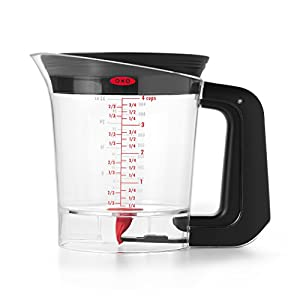 OXO Good Grips Good Gravy Trigger Fat Separator, 4-Cup