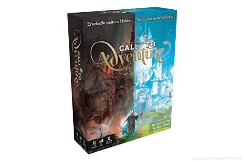 Asmodee DE BWGD0002 Asmodee Call to Adventure, Kennerspiel, Kartenspiel, Deutsch