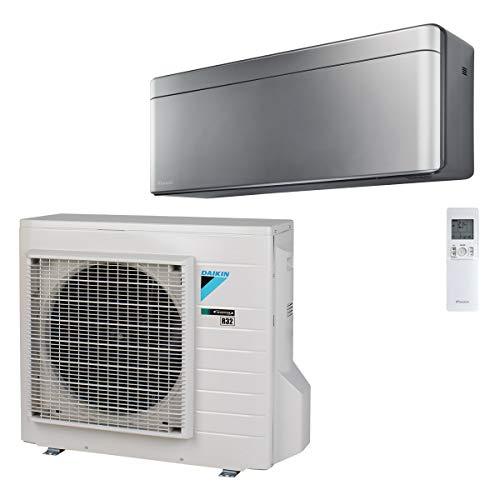 Daikin - Set Stylish 5,0 kW Klimaanlage Innengerät FTXA50BS - Silber + RXA50B Außengerät R32