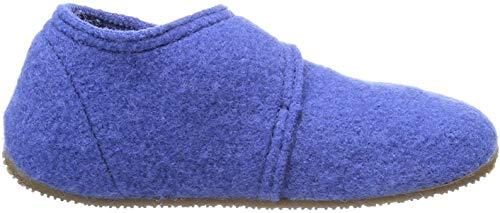 Living Kitzbuhel Baby Jungen Babyklettschuh Krabbel- & Hausschuhe, Blau (victoria blue 558), 23 EU