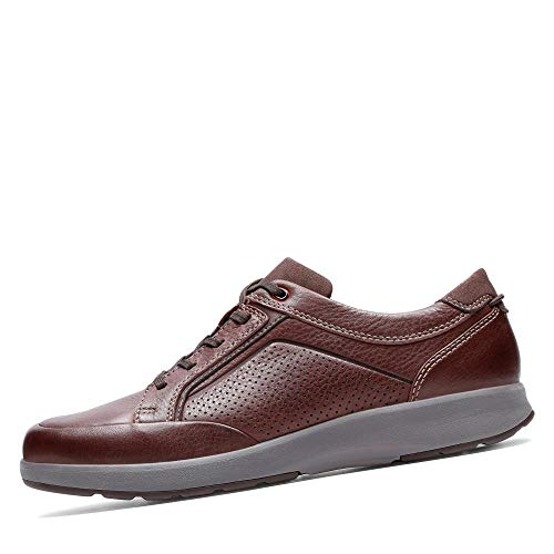 Clarks Un Trail Form, Derbys Derby, Braun (Mahogany Leather Mahogany Leather), 47 EU