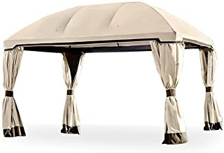 Garden Winds LCM1174B-RS Pomeroy Domed Gazebo-RipLock 350 Replacement Canopy