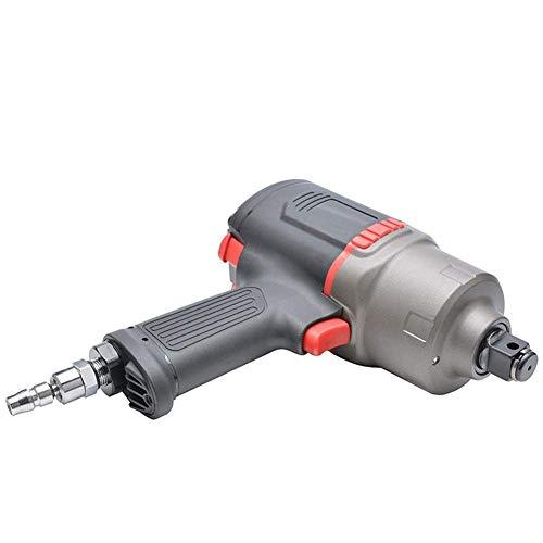 YISUNF Industrial, Practica portátil neumática 3/4 pulgadas de doble martillo Tipo Extractor de aire, plástico de acero for trabajo pesado aire de disparo, herramientas neumáticas llave de mano Indust