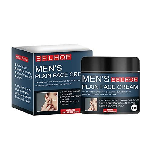 Beifeng Crème blanchissante pour homme non grasse pour le visage, l'acné, les points noirs, le correcteur, le fond de teint, les cosmétiques pour le quotidien