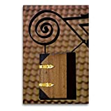 Premium Textil-Leinwand 60 x 90 cm Hoch-Format Ladenschild
