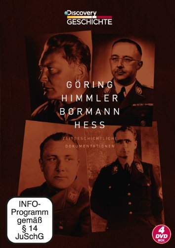 Göring Himmler Bormann Heß-Box [4 DVDs]