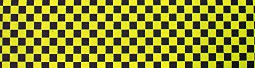 Black Diamond Griptape 9' x 16.5' Black/Yellow Checker Scooter Grip