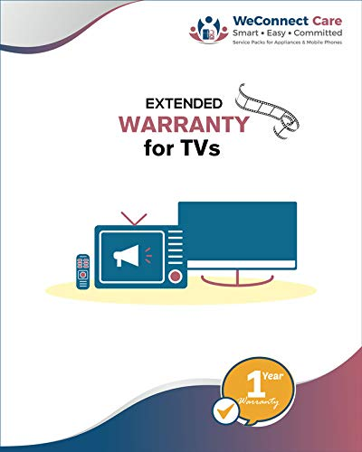 WeConnect Care - 1 Year Extended Warranty for Mi LED TVs 4A & 4X (40 inches & 43 inches) - E Mail...