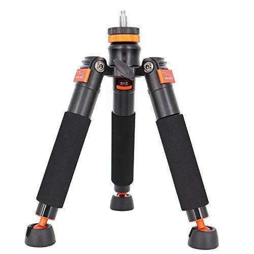 Koolehaoda Mini Tripod & Three Feet Support Stand with 1/4-3/8 Screw for Monopods-SLR Camera Ball Head (A3-Tripod Holder)