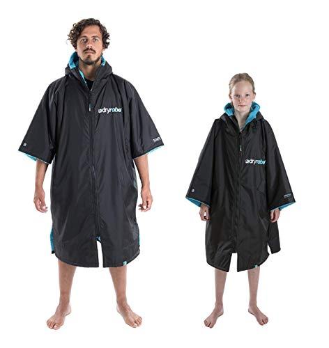 Dryrobe Advance poncho voor volwassenen, met korte mouwen