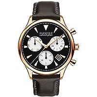 Movado Heritage Chronograph Quartz Black Dial Men's Watch