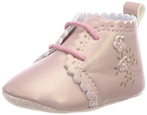 Sterntaler Erstlings-Schuh mit Schnürbänder für Mädchen, Alter: 0-3 M (14), Pink