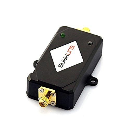 : 2W Wireless WiFi Signal Booster Amplifier Antenna IEEE802.11 B/G/N Black