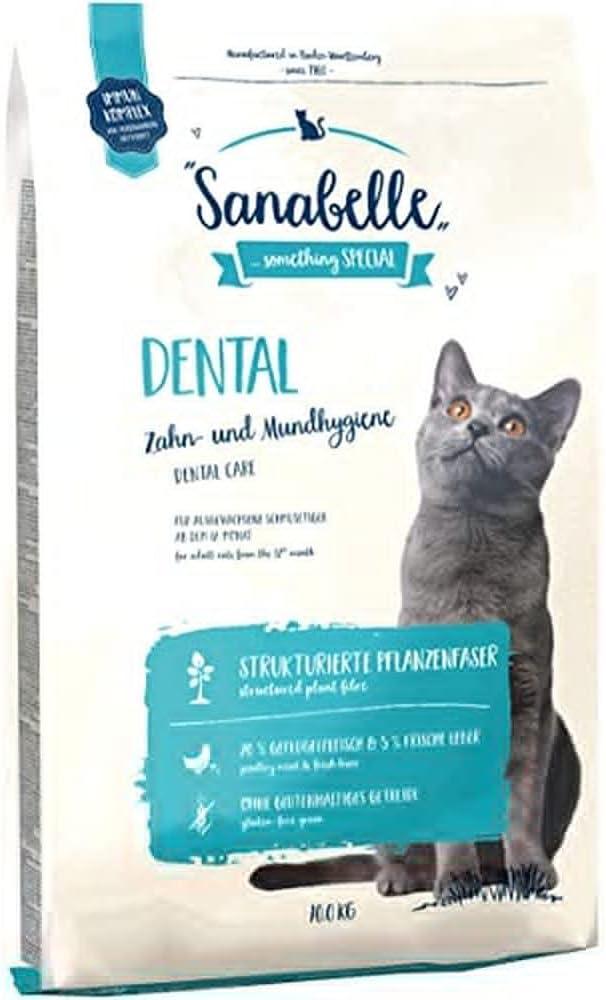 pienso seco para higiene dental en gatos