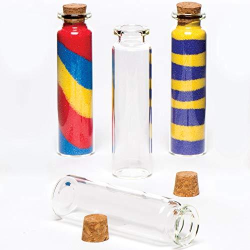 Baker Ross kleine glazen flessen (8 stuks)