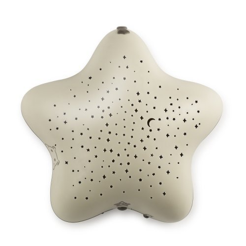 Pabobo Star Projector with Music, Beige