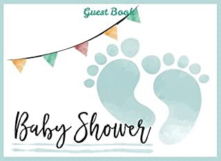 Baby Shower Guest Book for Boy: Baby Guest Book Shower,Welcome Baby Message Book,Advice for Parents and Wishes for baby,Comments or Predictions (Baby Shower Guest Book Boy) (Volume 1)