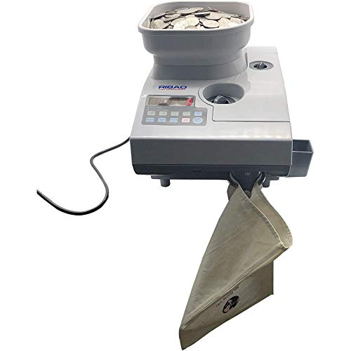 Coin-Mate CS-2000 Heavy Duty Coin Counter and Sorter with Large Hopper Capacity