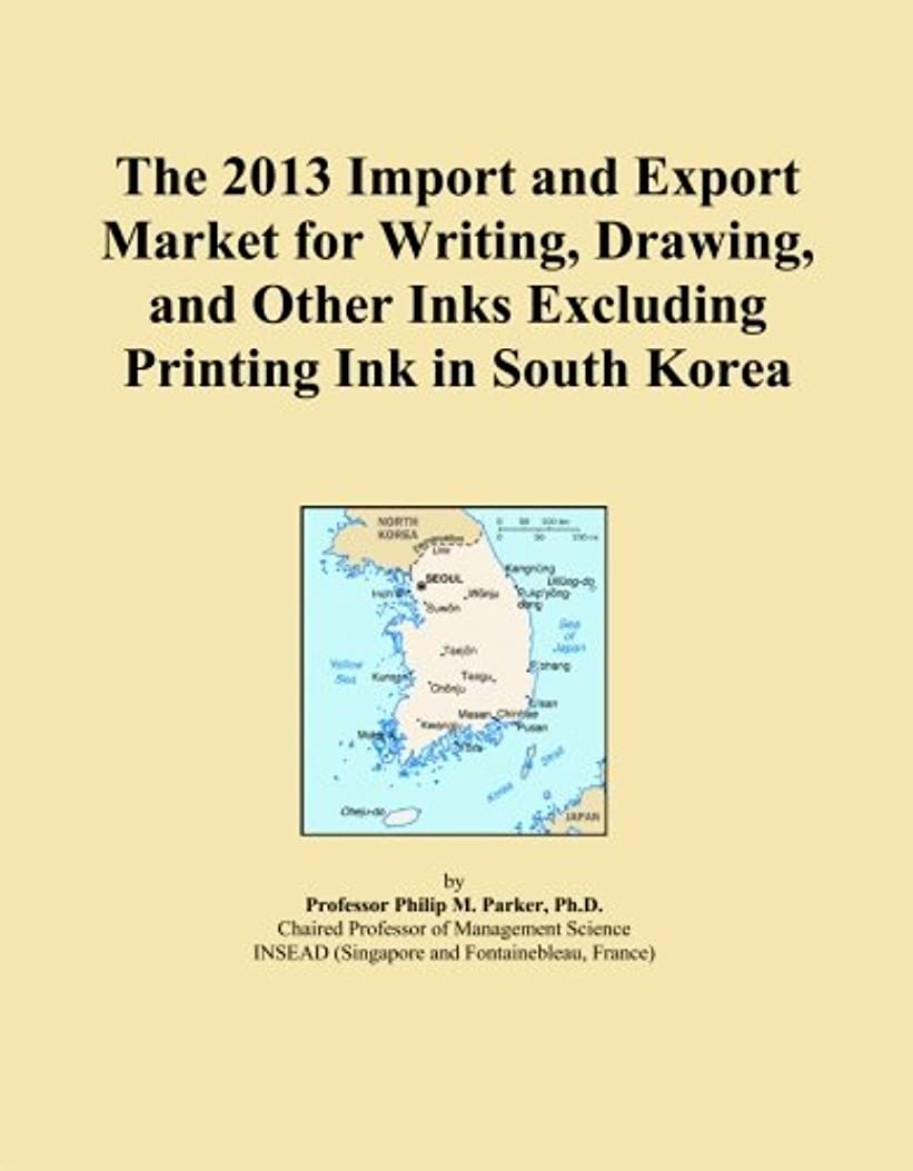 The 2013 Import and Export Market for Writing, Drawing, and Other Inks Excluding Printing Ink in South Korea
